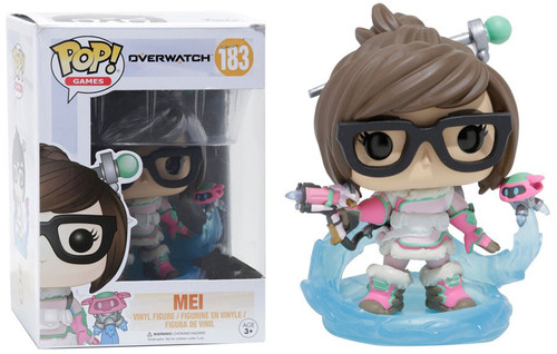 Funko Overwatch POP! Games Mei Exclusive Vinyl Figure #183 [Mid Blizzard]