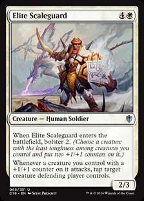 MtG Commander 2016 Uncommon Elite Scaleguard #65