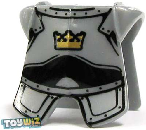 LEGO Silver Breastplate with Golden Crown Loose Accessory [Loose]