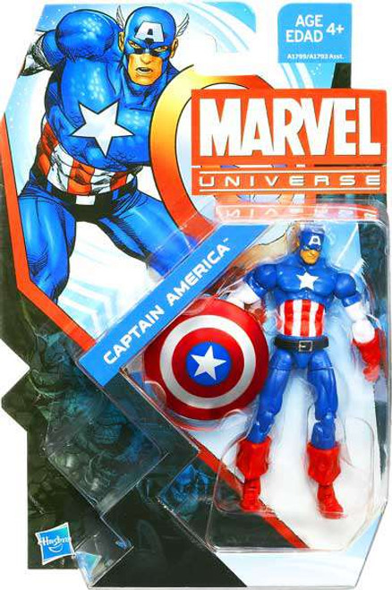 Marvel Universe Series 22 Captain America Action Figure #4 [Damaged Package]