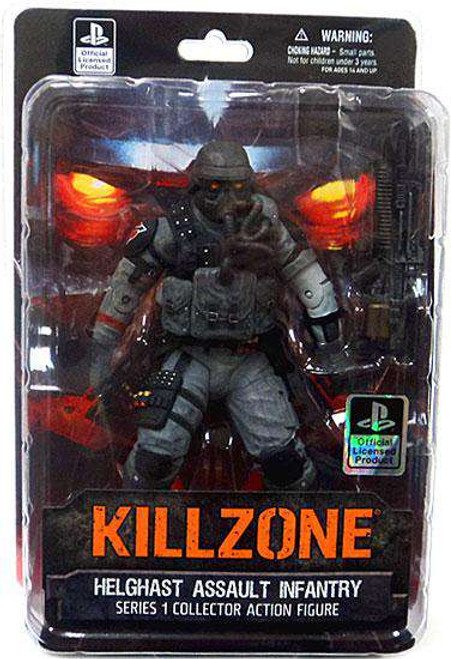 Killzone Helghast Assault Infantry Action Figure [Damaged Package]