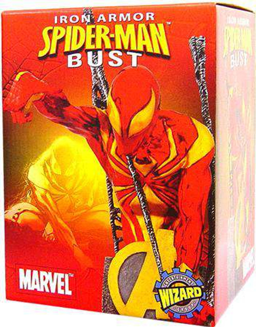 Marvel Iron Armor Spider-Man Exclusive Bust [Damaged Package]