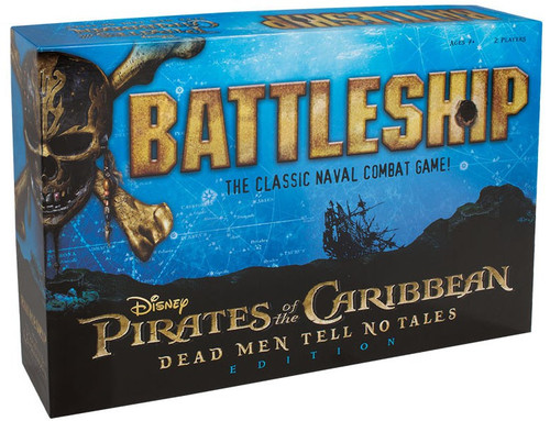 Pirates of the Caribbean Battleship Board Game