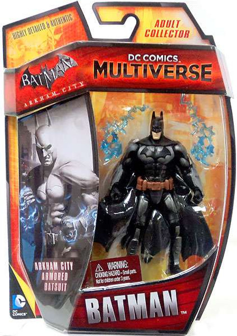 Arkham City DC Comics Multiverse Armored Batman Action Figure [Damaged Package]