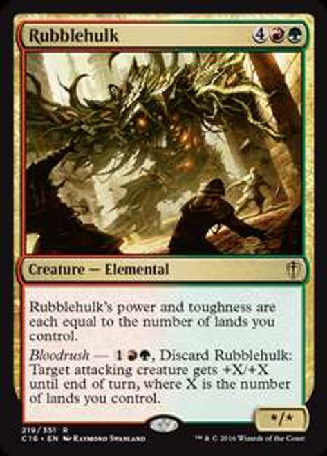 MtG Commander 2016 Rare Rubblehulk #219
