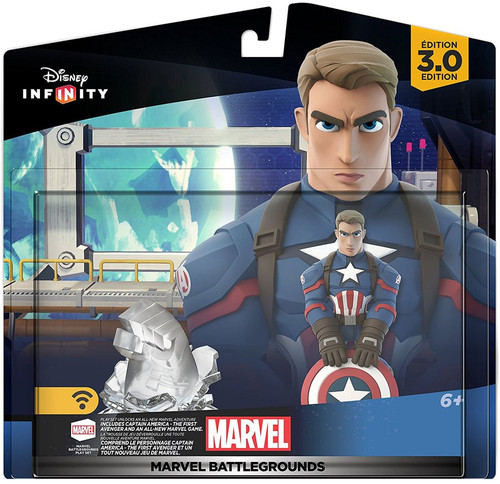 Disney Infinity 3.0 Marvel Super Heroes Marvel Battlegrounds Game Figure