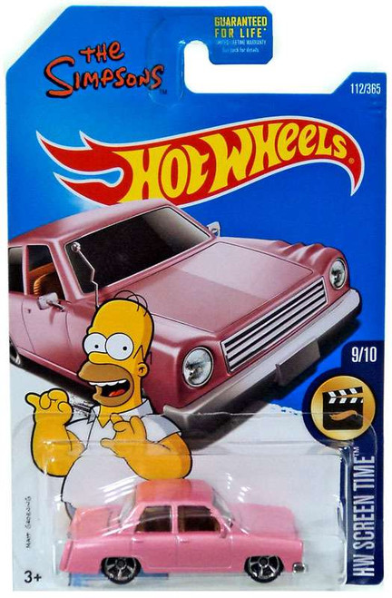 Hot Wheels HW Screen Time The Simpsons Family Car Diecast Car #9/10