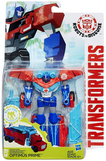 Transformers Robots in Disguise Mini-Con Weaponizers Optimus Prime Warrior Action Figure