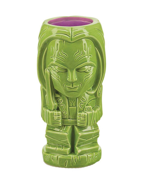 Marvel Guardians of the Galaxy Geeki Tiki Gamora 7-Inch Glass