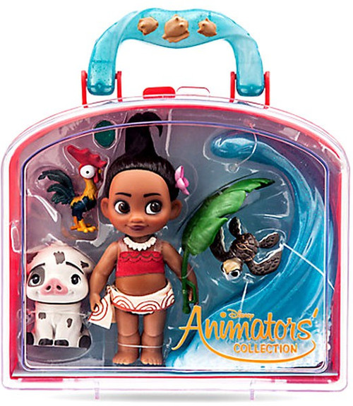 Disney Animators' Collection Moana Mini Doll Playset [2017]