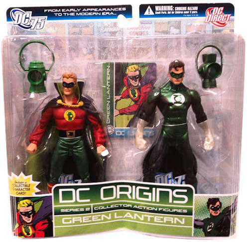 DC Origins Series 2 Green Lantern Action Figure 2-Pack [Damaged Package]