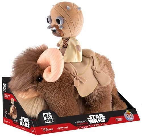 Funko Star Wars The Force Awakens Galactic Tusken Raider & Bantha Exclusive Plush