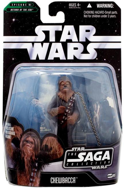 Star Wars Return of the Jedi 2006 Saga Collection Chewbacca Action Figure #05 [Boushh's Bounty]