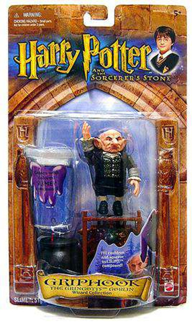 Harry Potter The Sorcerer's Stone Griphook Action Figure [Goblin, Damaged Package]