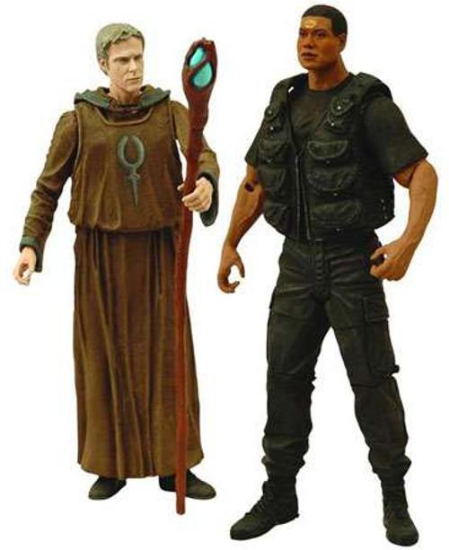 Stargate SG-1 Season 10 Daniel & Teal'c Action Figure 2-Pack