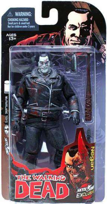 McFarlane Toys The Walking Dead Comic Negan Exclusive Action Figure [Black & White, Damaged Package]