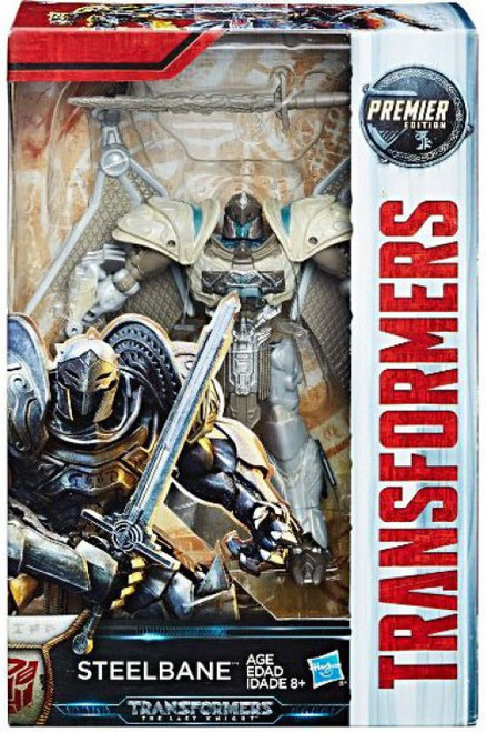 Transformers The Last Knight Premier Deluxe Steelbane Action Figure