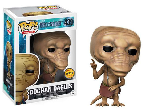 Funko Valerian POP! Movies Doghan Daguis Vinyl Figure #439 [Finger Pointing Up Chase Version]