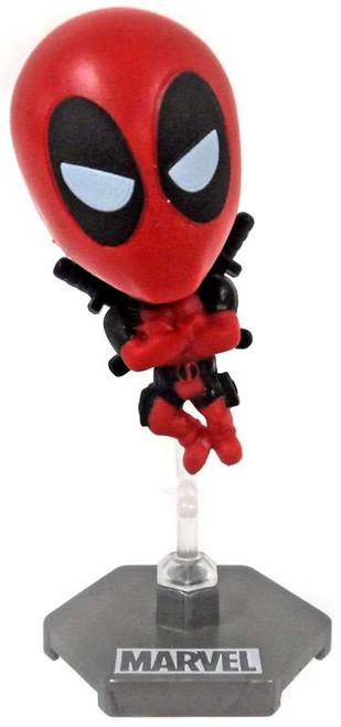 Marvel Original Minis Series 1 Deadpool Bobble Head Mini Figure [Red Version 3]