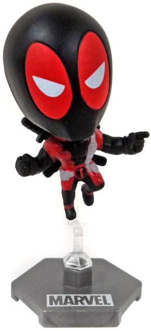 Marvel Original Minis Series 1 Deadpool Bobble Head Mini Figure [Black Version 1]