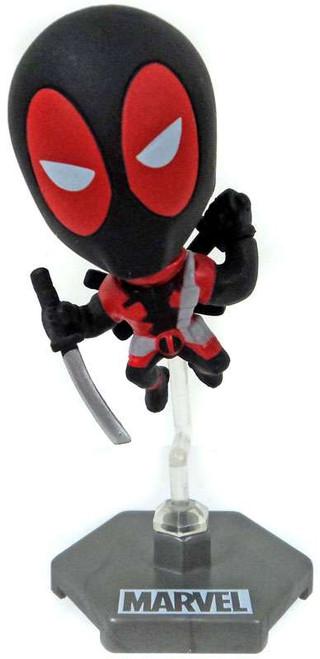 Marvel Original Minis Series 1 Deadpool Bobble Head Mini Figure [Black Version 2]