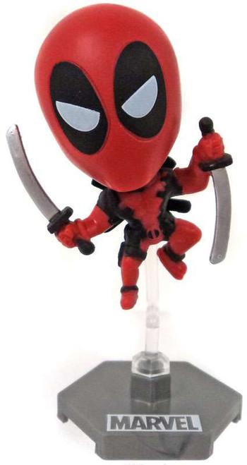 Marvel Original Minis Series 1 Deadpool Bobble Head Mini Figure [Red Version 4]