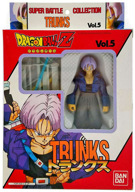 Dragon Ball Z Super Battle Collection Trunks Action Figure