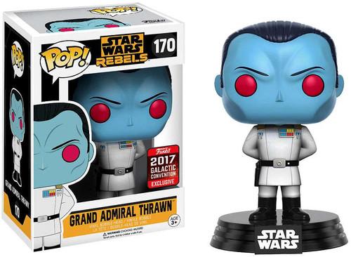 Funko Rebels POP! Star Wars Grand Admiral Thrawn Exclusive Vinyl Bobble Head #170
