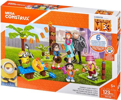 Despicable Me Minions Family Luau Party Set