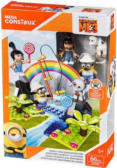 Despicable Me Minions Anges Unicorn Expedition Set