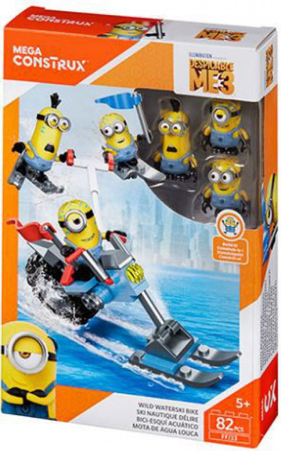 Despicable Me Minions Wild Waterski Bike Set
