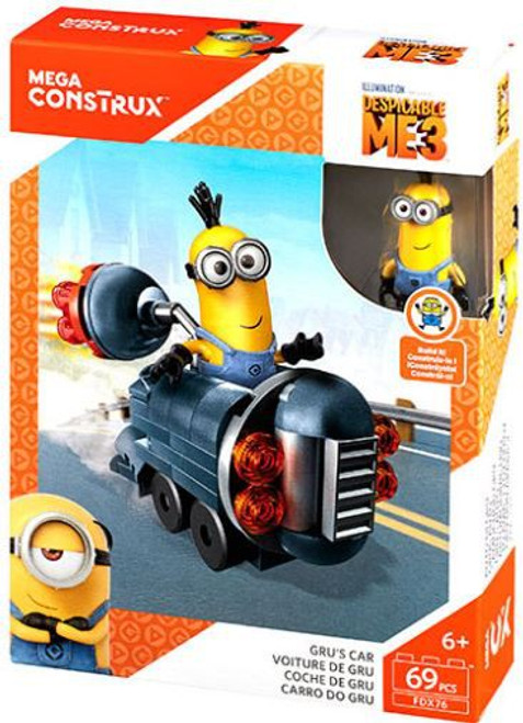 Despicable Me Minions Gru's Car Set