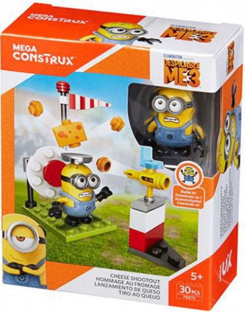 Despicable Me Minions Cheese Shootout Set