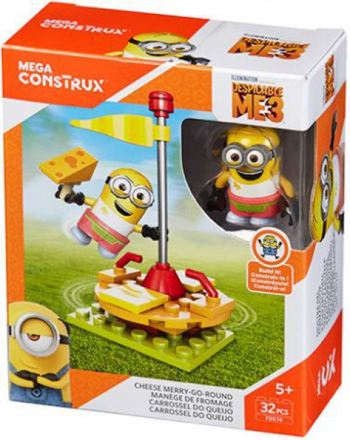 Despicable Me Minions Cheese Merry Go Round Set
