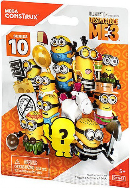 Despicable Me 3 Series 10 Mystery Box [24 Packs]