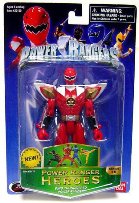 Power Rangers Power Ranger Heroes Series 16 Dino Thunder Red Ranger Action Figure