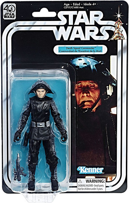 Star Wars Black Series 40th Anniversary Wave 2 Death Squad Commander Action Figure