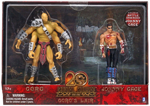 Mortal Kombat 20th Anniversary Goro's Lair Action Figure 2-Pack