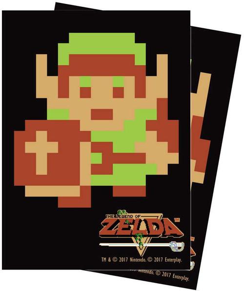 Ultra Pro Card Supplies Legend of Zelda 8-Bit Link Standard Card Sleeves [65 Count]