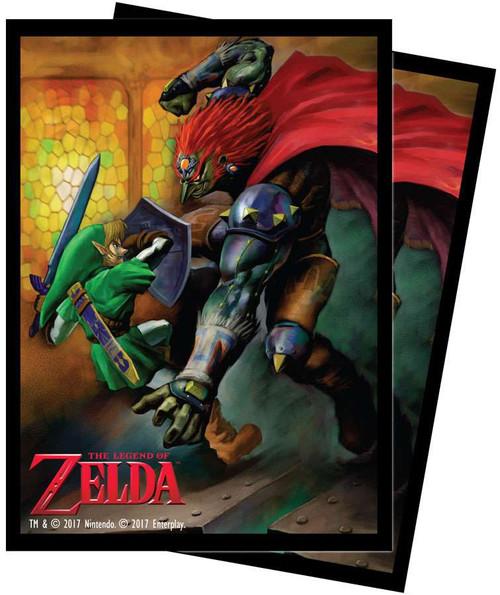Ultra Pro Card Supplies Legend of Zelda Link & Gannon Battle Standard Card Sleeves [65 Count]