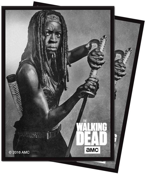Ultra Pro Card Supplies The Walking Dead Michonne Standard Card Sleeves [50 Count]