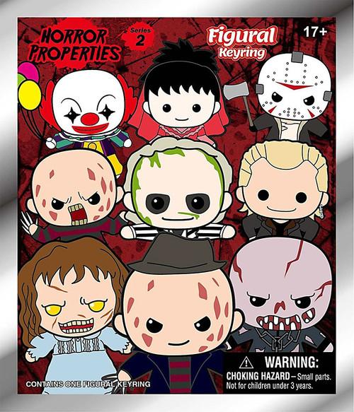3D Figural Keyring Horror Series 2 Mystery Pack [1 RANDOM Figure]
