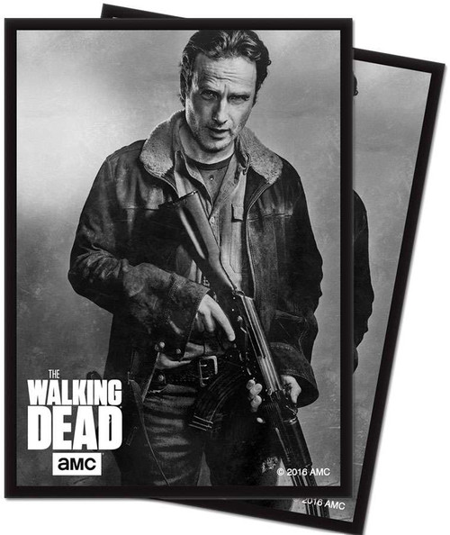 Ultra Pro Card Supplies The Walking Dead Rick Standard Card Sleeves [50 Count]