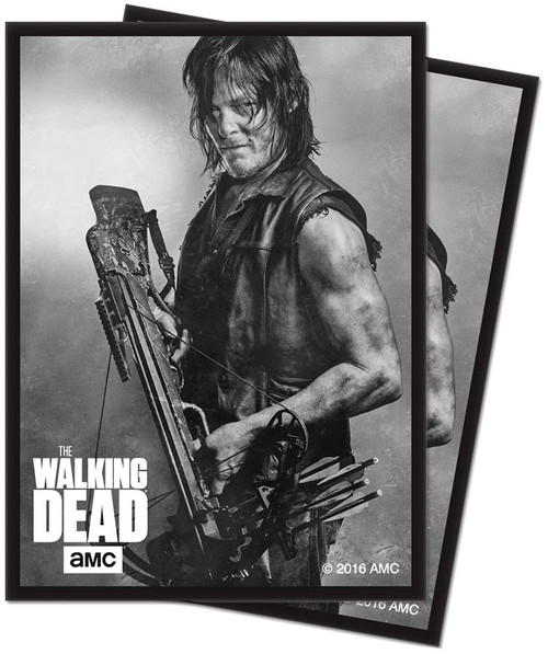 Ultra Pro Card Supplies The Walking Dead Daryl Standard Card Sleeves [50 Count]
