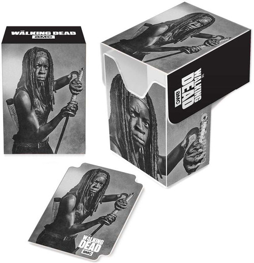 Ultra Pro The Walking Dead Card Supplies Michonne Deck Box