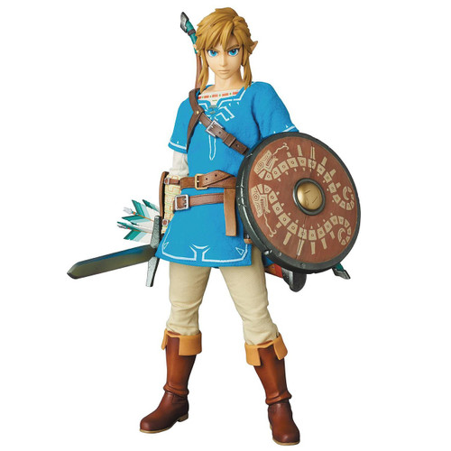 The Legend of Zelda Breath of the Wild RAH Link Collectible Figure