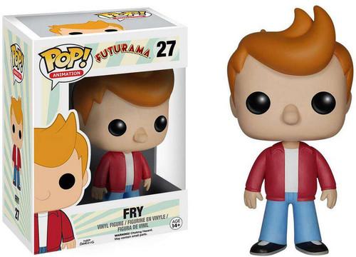 Funko Futurama POP! Animation Fry Vinyl Figure #27 [Damaged Package]
