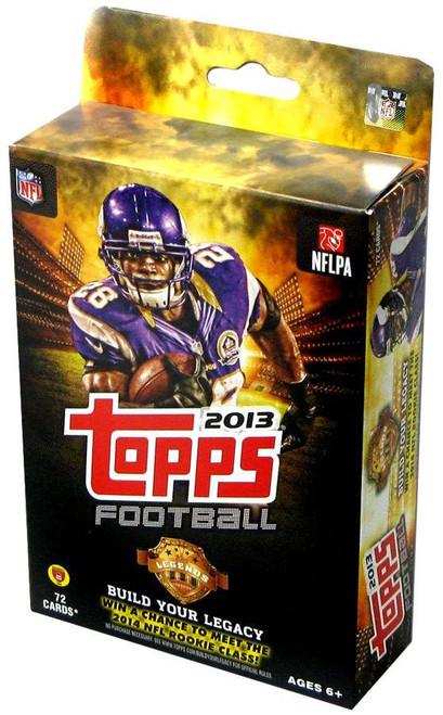 NFL Topps 2013 Football Trading Card HANGER Box [72 Cards!]