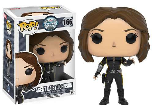 Funko Agents of S.H.I.E.L.D POP! Marvel Agent Daisy Johnson Vinyl Figure #166 [Quake, Damaged Package]