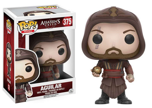 Funko Assassin's Creed POP! Movies Aguilar Vinyl Figure #375 [Movie, Damaged Package]